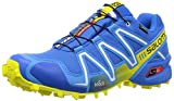 Salomon Herren Speedcross 3 Gtx Traillaufschuhe, Blau (Bright Blue/Process Blue/Gecko Gree), 44 2/3 EU