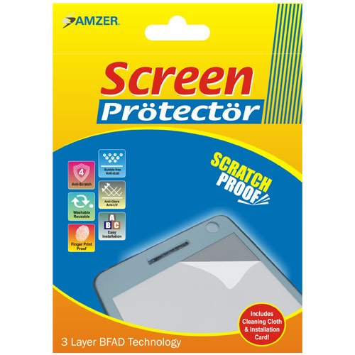 Amzer Super Clear Displayschutzfolie mit Reinigungstuch für Sidekick LX 2009 Sidekick Lx Screen Protector