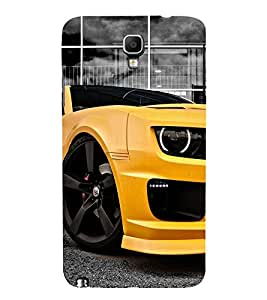 99Sublimation Amazing Car 3D Hard Polycarbonate Back Case Cover for Samsung Galaxy Note 3 Neo :: Duos :: 3G N750 :: LTE+ N7505 :: Dual SIM N7502