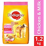Pedigree Puppy Dry Dog Food, Chicken & Milk – 1.2 kg Pack