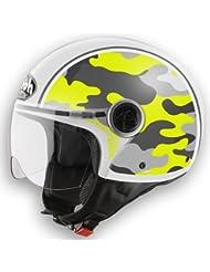 AIROH Compact Casco Shield amarillo amarillo Talla:XL