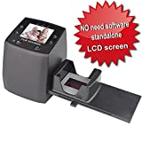 DigitNow! Hochauflösender Filmscanner wandelt 35/135 mm Negativ- und Diapositive in digitale JPEGs um, speichert die SD-Karte, integrierte Software, 1800 dpi Hohe Auflösung - kein Computer
