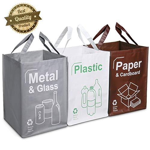 Opret Cubo Basura Reciclaje 3 Pack Bolsas Reciclaje
