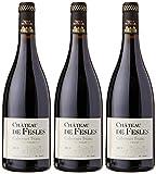 CHT DE FESLES LA CHAPELLE Anjou Vin Rouge AOP Vieilles Vignes 750 ml - Lot de 3