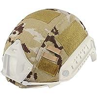 Casco táctico para camuflaje para Fast MH/PJ casco para accesorios de juego campo CS Wargame Airsoft Paintball Shooting, Spain Camo