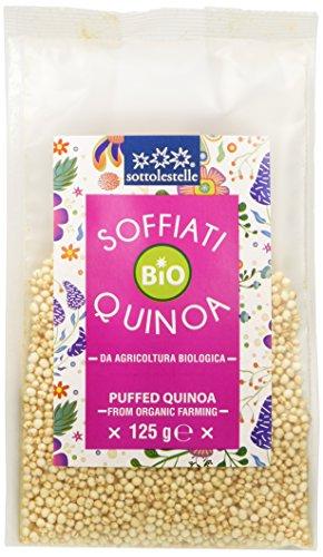 Sottolestelle Quinoa Soffiata - 8 confezioni da 125gr - Totale  1 kg