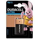 Duracell 9V Alkaline Battery with Duralock Technology (Black and Braun)