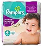 Pampers Active Fit Größe 4 (Maxi) Essential Pack 39 Windeln