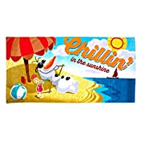 Frozen - Olaf Beach Towel For Kids