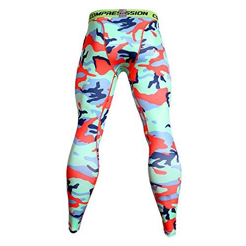 UFACE Yoga Hosen Herren Pants Frauen Hohe Taillen Yoga Geometrischer Flügel Druck Legging Laufende Sporthose Hose Laufhose Trainingshose Fitnesshose Hose Jogger Outdoor Sport