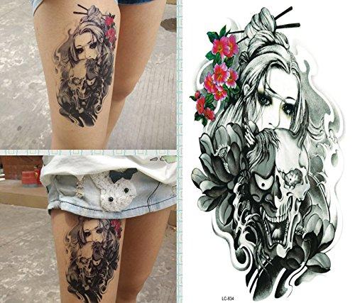 arte-corporal-pegatinas-tatuaje-removibles-temporales-calavera-y-mujer-pegatina-tatuaje-modavida-fas