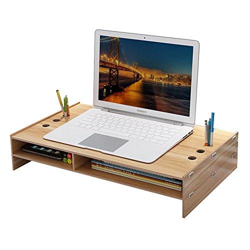 Baiyun flyin Mai® Laptop Monitor Bildschirm Erhöhte Regale, Einstellbare Winkel, Die Desktop-Lagerung Finishing Tabelle Größe 49 * 28 * 10.5cm (Farbe : 3#) - 3 Regal-große Tabelle