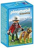 Playmobil Vida en la Montaña Rescatador de montaña con perro (5431)