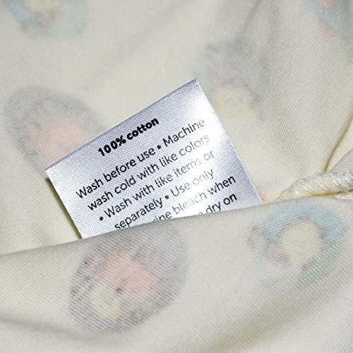 Miracle Baby Doux et Réglable 100% Coton Emmailloter Couverture Pour bébés 0-6Mois