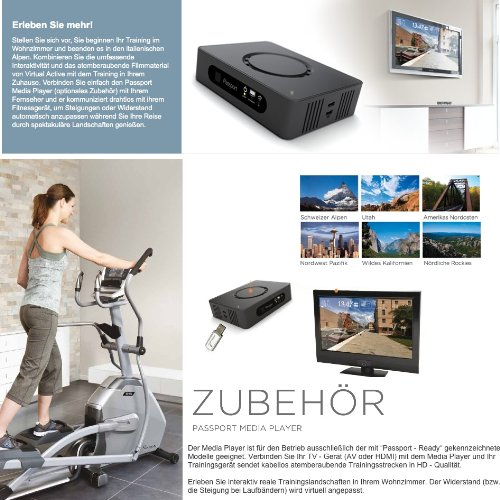 Zoom IMG-2 xf40i touch vision fitness ellittica
