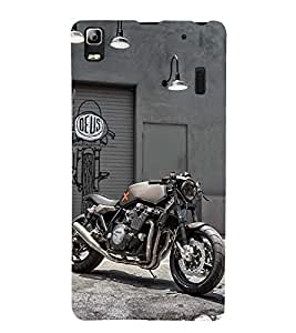 Racing Bike 3D Hard Polycarbonate Designer Back Case Cover for Lenovo K3 Note :: Lenovo A7000 Turbo