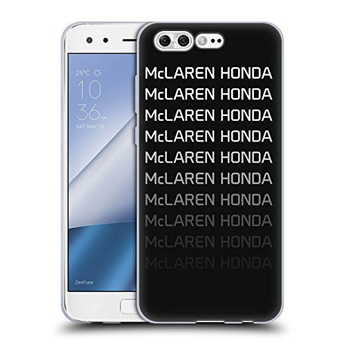 Officiel McLaren Honda Essentials Logo Repeat Art Clé Étui Coque en Gel molle pour Asus Zenfone 4 Pro ZS551KL