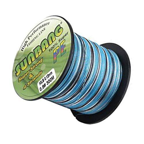 Provide The Best PE Geflochtene Angelschnur Abriebfeste Tarnung Geflochtene Kiteleinen Kord mit kleinerem Durchmesser String -