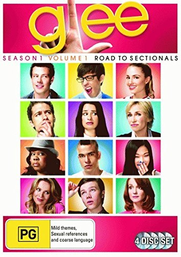 Glee - Season 1: Volume 1 - Road to Sectionals (4 Disc Set) (Sectional-sets Unter 500)