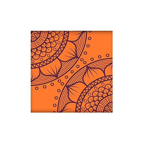 Creme Bodenfliese (KLMWDDBT Fliesenaufkleber 10 Kreative Bodenfliesen Aufkleber Bedroom Bodenbeschfußboden Aufkleber Retro Abstrakten Wandaufkleber Pvc Wasserdicht Sticker Z003)
