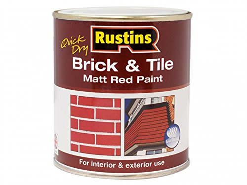 Rustins BRITW2500 2,5 litros de secado rápido de ladrillos y azulejos
