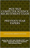 Best Books For Teachers - PGT/TGT COMPUTER SCIENCE Recruitment Exam Previous Year Papers: Review