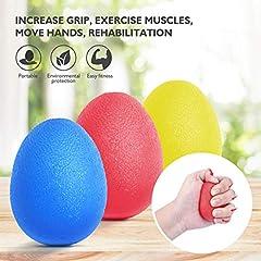 Idea Regalo - Peradix Palla Antistress, Dito e Grip Hand Rinforzare Exerciser -3 Resistenza-Forza Trainer Avambraccio Esercizio, Chitarra Finger, Arrampicata e Riabilitazione della Mani Artritiche