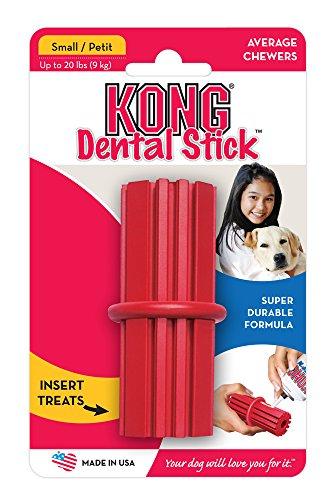 KONG Dental Stick Dog Toy, Red 2