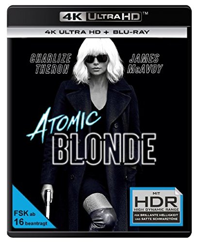 Atomic Blonde - Ultra HD Blu-ray [4k + Blu-ray Disc]