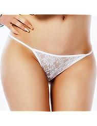 Babysbreath Culottes en dentelle florale G String Panties transparentes