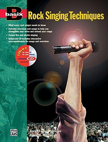 BASIX Rock Singing Techniques (Book & Enhanced Cd) by Surmani, Karen Farnum, Mitchell, Kevin M. (1997) Paperback