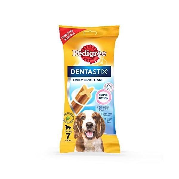 Pedigree Dentastix, Dental Care Dog Treat for Adult Medium Breed(10-25kg) Dogs