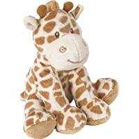 Suki Baby Small Bing Bing Soft Boa Plush Rattle with Embroidered Accents (Giraffe)