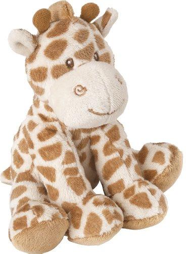 """Suki Bing Bing Baby-Kuscheltier \""""Kleine Giraffe\"""", weiches Plüsch-Material mit Rassel und Stickakzenten"""