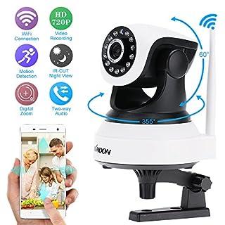 KKmoon H.264 1280 x 720p Home Surveillance Camera Wireless IP Camera 1/4