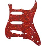 MIJ Pickguard for Stratocaster '57 Red Tortoise 3Ply fa-pg-st57-rtt3