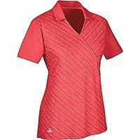 adidas CD4004 Polo de Golf, Mujer, Rojo, XS