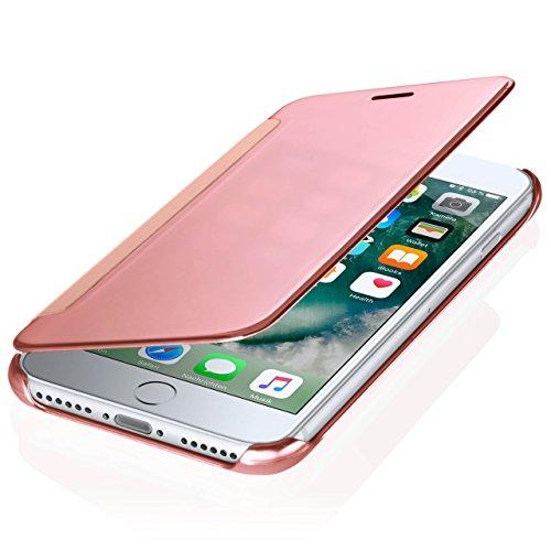 iPhone 6S Hülle Transparent TPU [OneFlow Void Cover] Dünne Schutzhülle Schwarz Handyhülle für iPhone 6/6S Case Ultra-Slim Handy-Tasche mit Sicht-Fenster SUNSET