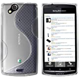 mumbi TPU Silikon Schutzhülle für Sony Ericsson Xperia ARC / ARC S