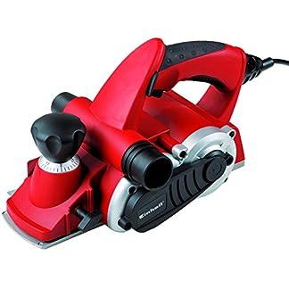 Einhell – TE-PL 850 – Cepillo eléctrico, depósito de cuchillas, empuñadura antideslizante (ref. 4345270)