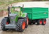 RC Traktor FENDT 1050 + Anhänger in XL Länge 74cm