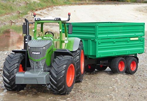 "RC Traktor FENDT 1050 + Anhänger in XL Länge 74cm ""Ferngesteuert"""