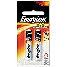 Energizer Alkaline Batteries Size AAAA 1.5 V Blister Pack 2