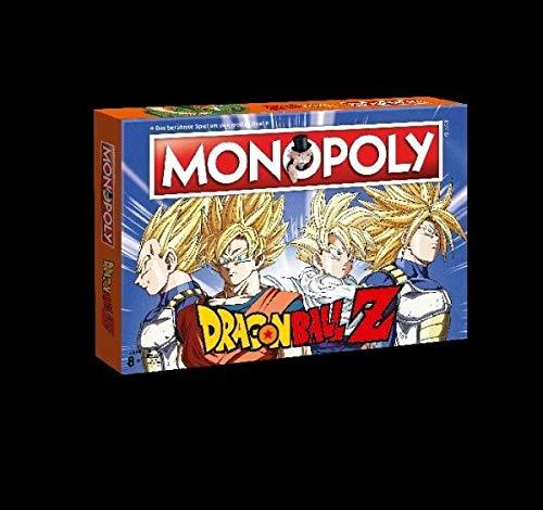 Monopoly Dragonball Z Edition Für Fans Die Saga Rund Um Son Goku Trunks Vegeta Und Son Gohan Brettspielklassiker Trifft Auf Dbz