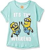 Best Minion Shirts - Minions By Kidsville Girls' Plain Regular Fit T-Shirt Review