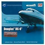 Douglas DC-6B 1/200 Die Cast Model, N93126, Western Airlines by Hobbymaster