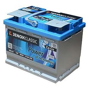 jenox 305lje batterie l2d 12 v 60 ah 510 a. Black Bedroom Furniture Sets. Home Design Ideas
