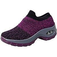 Toasye Ausverkauf Frauen Casual Mesh Schuhe Dicke Untere Plattform Schuhe Luftpolster Sport Schuhe Turnschuhe