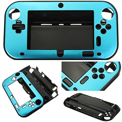 GOZAR Aluminium Hülle Für Nintendo Wii U Gamepad Fernbedienung - Blau