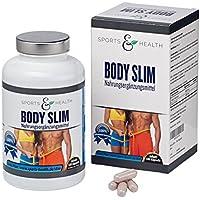 Preisvergleich für Body Slim - endlich schlank - 180 Kapseln - Appetitzügler – abnehmen mit Tabletten - Abnehmen mit Glucomannan...